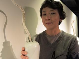 加藤真美陶藝個展,計展出17組件作品。(圖/陶博館提供)