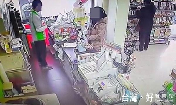 調監視器逮女賊 慣竊辯吃藥恍惚