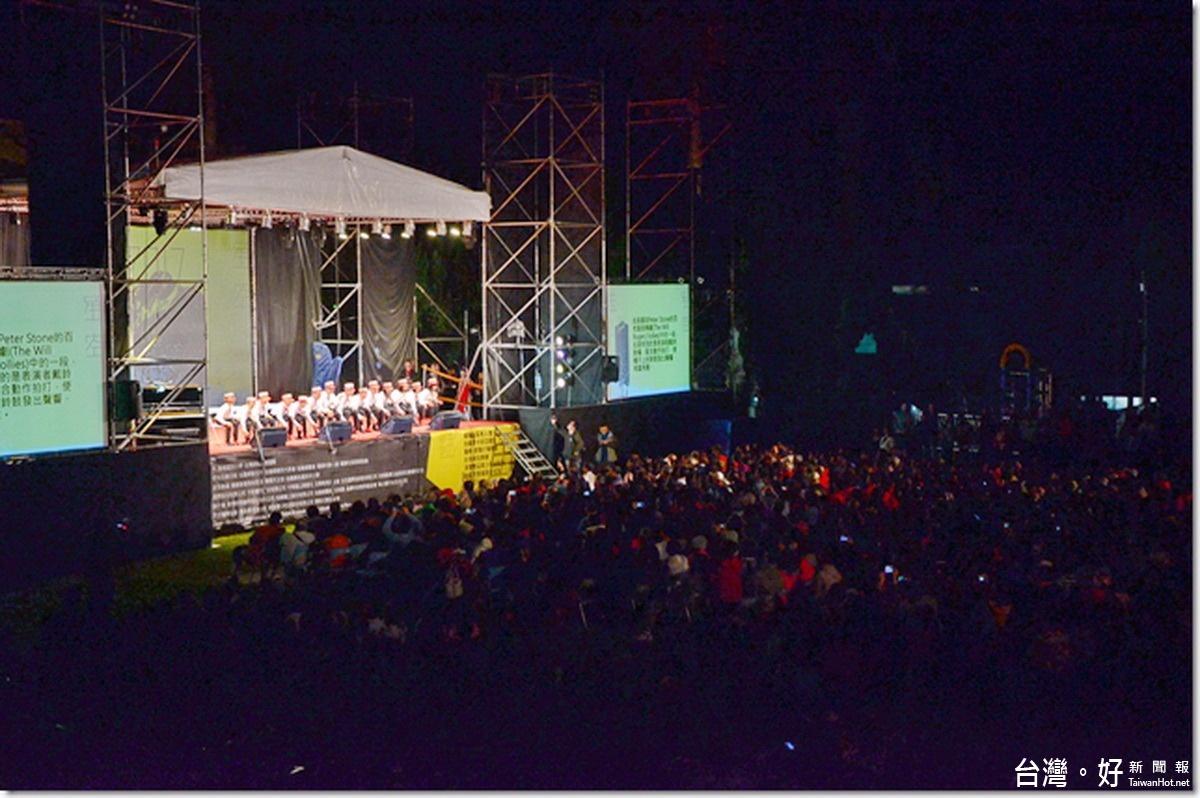 玉山星空音樂會5千人聆聽 林明溱:任內繼續辦下去