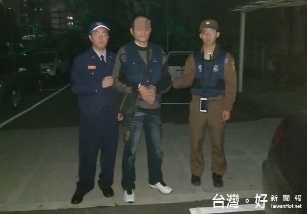 巡邏警眼尖跟蹤 逮獲竊盜通緝犯