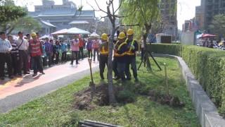 樹木搶災演練 環保團體植樹熱情響應