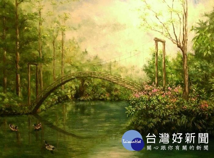 《浩色之圖》經典巡迴展 即起至3/26桃市文化局畫廊展出