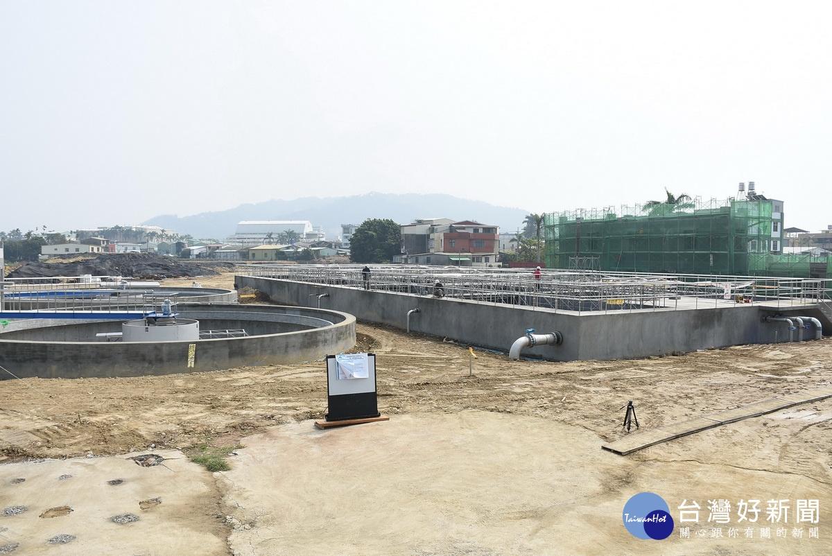 採脫氮除磷生物系統 南投草屯水資源回收中心8月可啟用