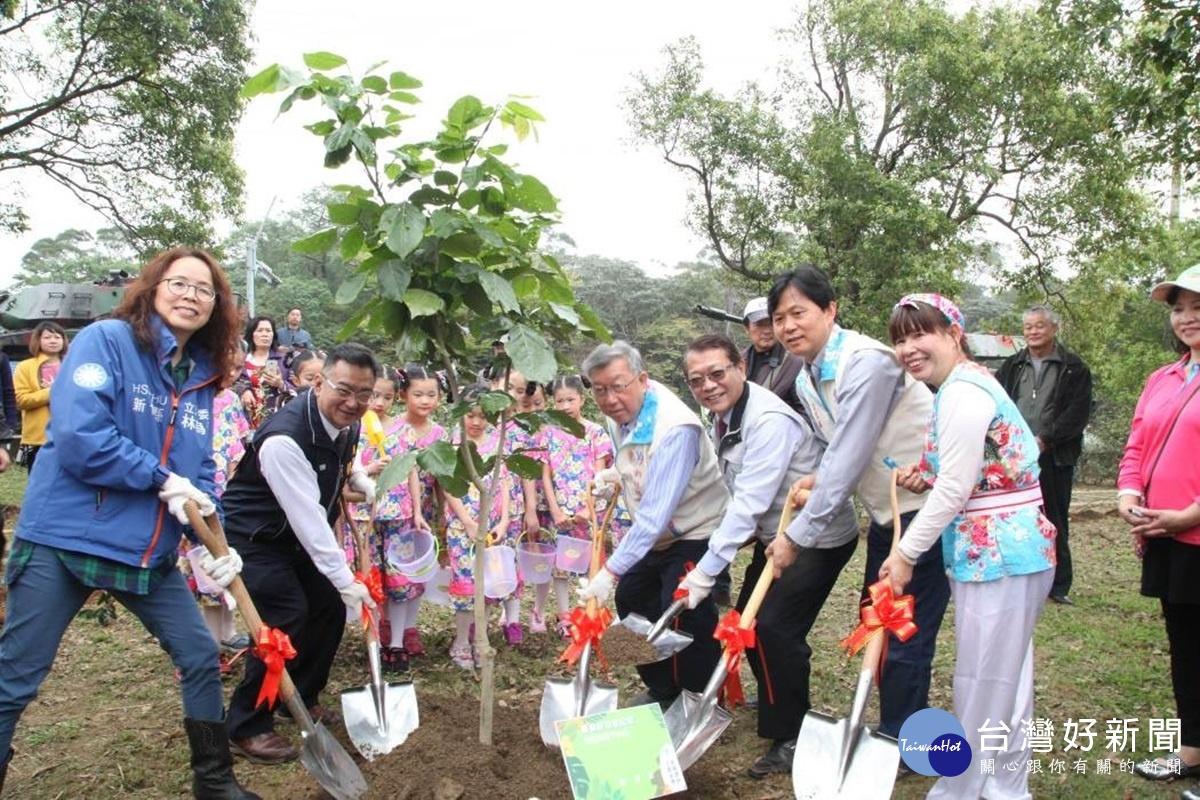 竹縣植樹節活動 千人熱烈響應