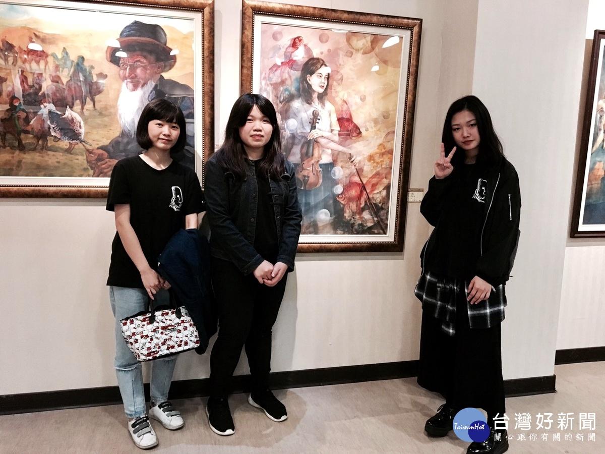 竹山高中美術班「阿迪斯○兜」畢業展 呈現三年學習成果