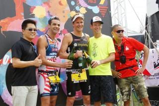 台灣鐵人三項國際賽 瑞士選手3小時42分封王