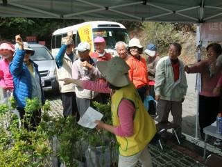 東勢林區管理處本週有兩場贈苗活動,歡迎民眾參加「植樹護林,守護台灣」的行列。(記者黃玉鼎攝)
