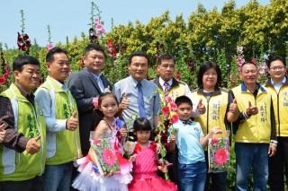 愛在員林蜀葵花節 邀全國好友親子一起「賞花趣」