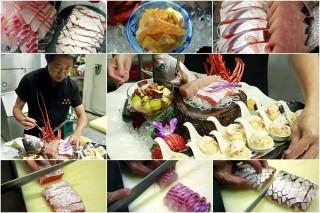 和風「阿舜師」的生魚片料理,實在有夠讚。(圖/記者陳木隆攝)