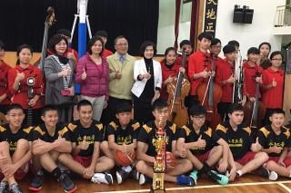 羅東國華國中國樂團及男籃隊雙雙贏得全國比賽冠軍。(圖/羅東鎮公所提供)