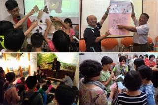 員山生態教育館三套環教認證課程,開放團體預約。(圖/羅東林管處提供)