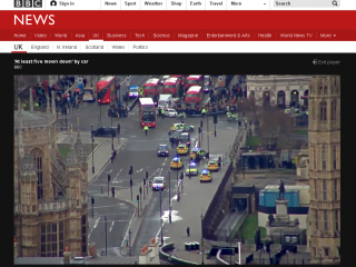 英國倫敦恐攻5死40傷 外交部:目前無台灣人死傷(圖/翻攝BBC官網/http://www.bbc.com/)