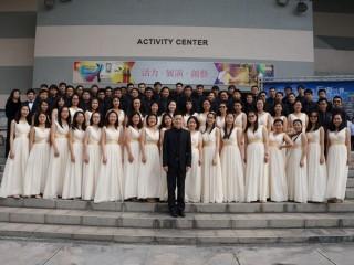 成大合唱團歌聲富美感,全國學生音樂比賽贏得特優。
