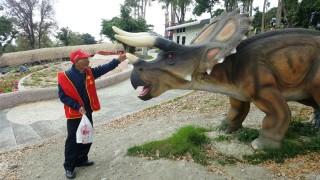 讓老人開心過一天 華山基金帶領獨老探索恐龍樂園