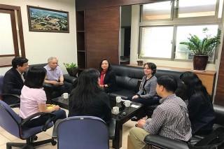 開拓國際新連結,AACSB訪長榮大學。