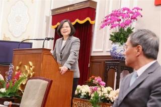 為20年後台灣打基礎 小英:前瞻計畫不分藍綠(圖/總統府提供)