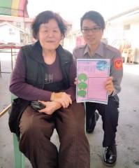 「萬安40號演習」將於4月13日實施,北港警分局密集宣導,希望民眾能事先準備,避免影響生活作息。(記者陳昭宗拍攝)