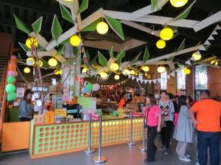 民雄金桔觀光工廠歡樂嬉戲遊農莊,金桔童樂繪慶祝兒童節。