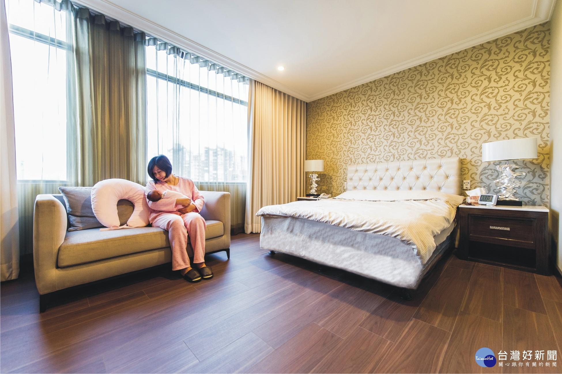 安其產後護理之家 100%滿意度和住房率