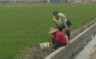 北港警方堅定護農打擊不法決心,持續啟動保護農作物專案,加強巡邏防制民生竊案。(記者陳昭宗拍攝)