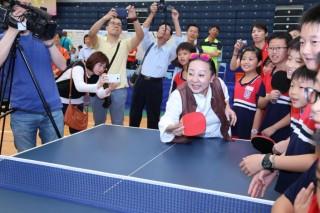 2017年議長盃桌球賽開球典禮