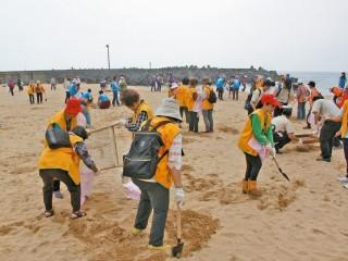 認養代替淨灘 22日外木山淨灘活動還給海洋原有風貌(示意圖,與本新聞無關)