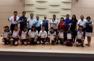 致民國中榮獲105年全國柔道錦標賽三金佳績。(圖/許素蘭攝)