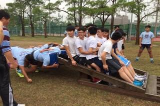 香港匯基中學體育營參訪長榮大學,體驗台灣優質大學長榮大學體適能教育後稱讚連連。