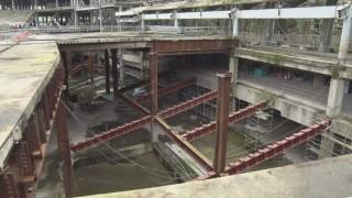 大巨蛋停工近兩年 除鏽工程得花4億