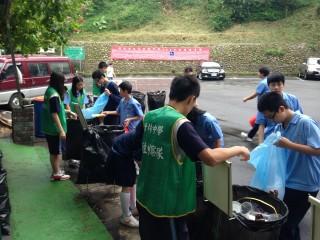 響應世界地球日,竹林中學全面建構綠色校園。
