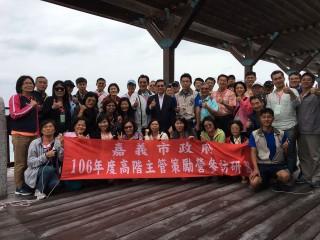 促進雙方觀光發展,嘉義市長涂醒哲拜會澎湖縣長陳光復。