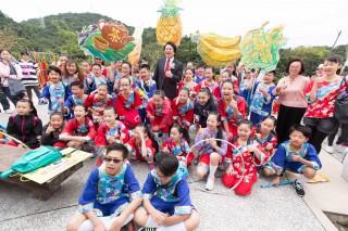 基隆桐花祭 體驗客家文化