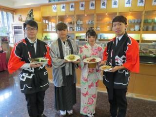 永平工商第一屆日本料理特色班辦理「展現成果感恩餐會」的活動。