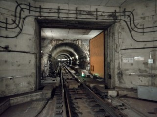 目前台北捷運系統總共有23樘防水隔艙。(圖/台北捷運公司)