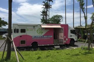 宜縣婦女五月接受乳攝檢查就有溫馨小禮。(圖/宜蘭縣衛生局提供)
