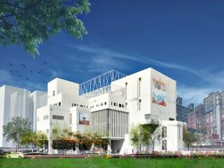蘆竹國民運動中心興建工程  預算金額為4億6千萬元(完工示意圖)