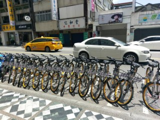 隨借隨還!500輛oBIKE進駐花蓮市 機車族:好難停車(圖/花蓮觀光局提供)