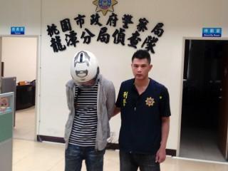 男子偷竊車內財物   眼尖警當場逮起出毒品