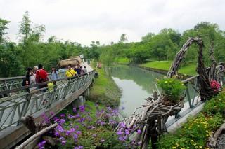 5月3日起購票遊綠博,有機會獲得3天2夜香港雙人遊。(圖/記者陳木隆攝)