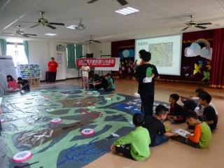 南投家扶兒保桌遊入新興國小校園體驗活動。