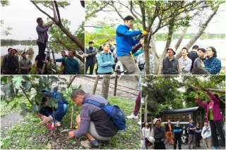 羅東林管處員工參加樹藝研習課程。(圖/羅東林管處提供)