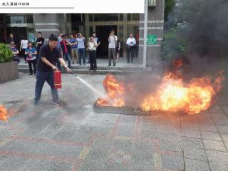 消防分隊辦理滅火器操作訓練 帶領民眾遠離祝融之禍