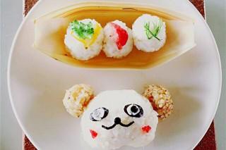 宜蘭嚴選米作成的米食佳餚。(圖/蘭陽農業發展基金會提供)