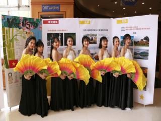 朝陽國際文化節越南學生演出。林重鎣攝