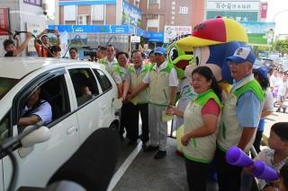 宜蘭縣政府籲請大家多多參與「為選手加油」抽獎活動。(圖/記者陳木隆攝)