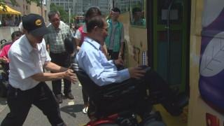 公車無障礙設備使用率低 身障者無福使用