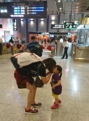 台灣高鐵母親節感恩活動除「給媽咪按個讚」外,還加碼推出抽獎,贈送「高鐵假期一日豐富行」兌換券。(記者陳昭宗拍攝)