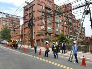 1060512玫瑰路纜線地下化 恢復整潔景觀