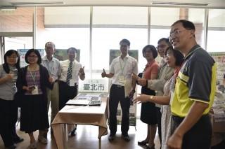 「ECO城市、低碳TAINAN」在長榮大學,從活動場地選定到課程安排皆考量減少交通里程,展現臺南市產官學各界努力推動環境教育成效。