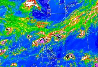 未來一週持續悶熱 下週四鋒面通過防雷、陣雨(圖/中央氣象局提供)